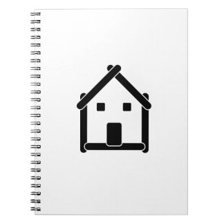House abstract real estate countryside notebook
