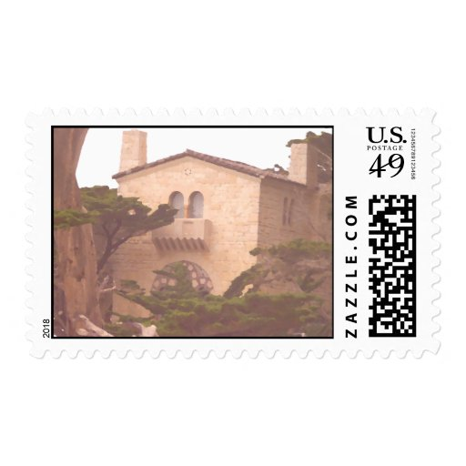 House Along the Coast Stamp
