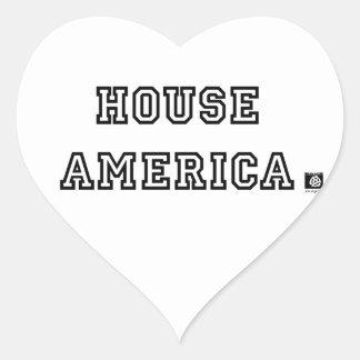 HOUSE AMERICA STICKER