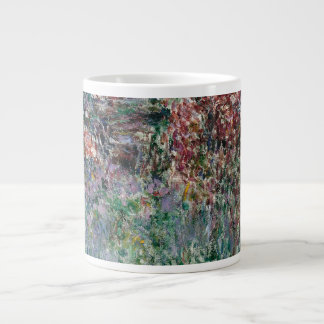 House among the Roses by Claude Monet Large Coffee Mug