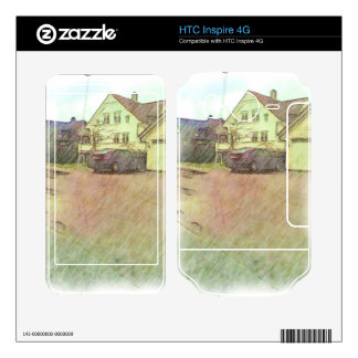 house and car HTC inspire 4G skins