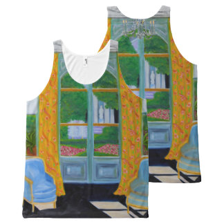 House and Garden in Amsterdam All-Over-Print Tank Top