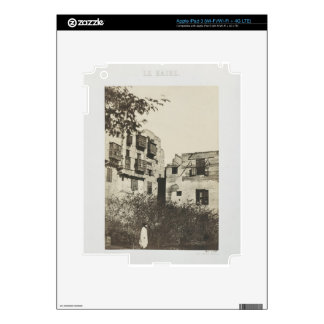 House and garden in the French Quarter, Egypt, 185 Decals For iPad 3