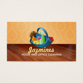 House and Office Cleaning business cards