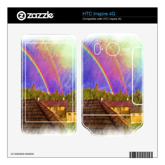 House and rainbow skins for HTC inspire 4G