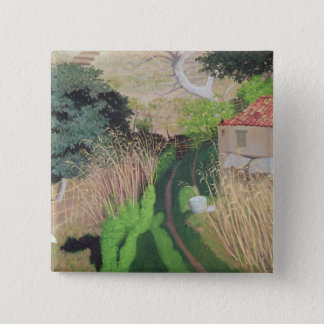 House and Reeds, c.1921-24 Button