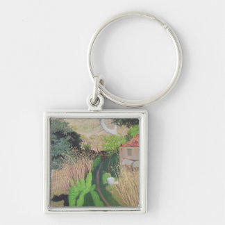 House and Reeds, c.1921-24 Keychain