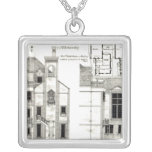 House and Studio, Steele's Road, Haverstock Square Pendant Necklace