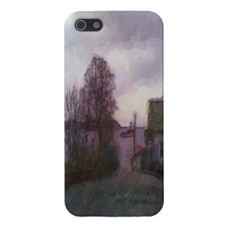 House and the sea case for iPhone 5/5S