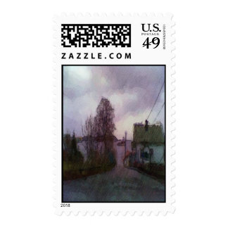 House and the sea stamps