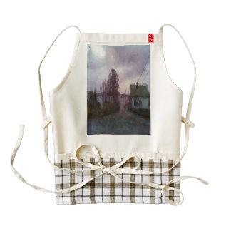 House and the sea zazzle HEART apron