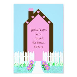 House Around the House Bridal Shower Invitation