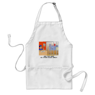 House Arrest Funny Police Mugs Tees Cards Gift Etc Adult Apron