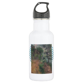 House at Beynac by Gustave Loiseau 18oz Water Bottle