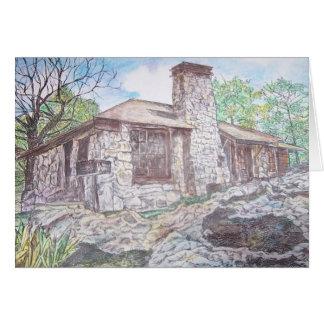 house at Mt. Nebo, Arkansas Greeting Cards