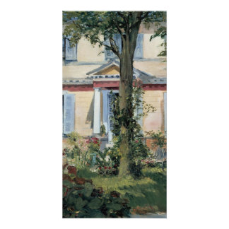House at Rueil by Edouard Manet Card