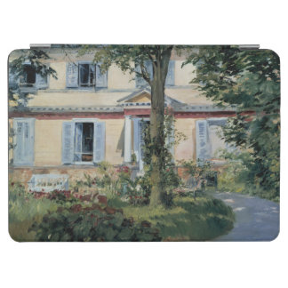 House at Rueil by Edouard Manet iPad Air Cover