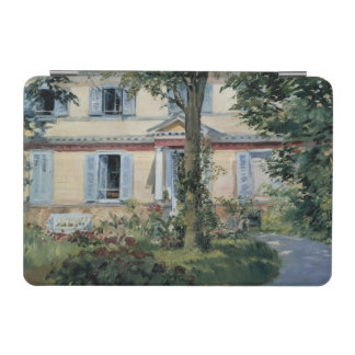 House at Rueil by Edouard Manet iPad Mini Cover