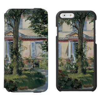 House at Rueil by Edouard Manet iPhone 6/6s Wallet Case