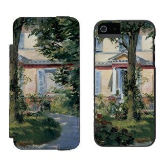 House at Rueil by Edouard Manet iPhone SE/5/5s Wallet Case