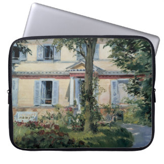 House at Rueil by Edouard Manet Laptop Sleeves