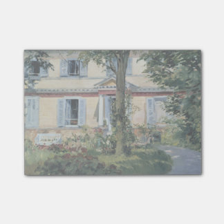 House at Rueil by Edouard Manet Post-it® Notes