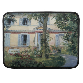House at Rueil by Edouard Manet Sleeves For MacBooks