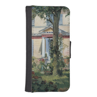 House at Rueil by Edouard Manet Wallet Phone Case For iPhone SE/5/5s