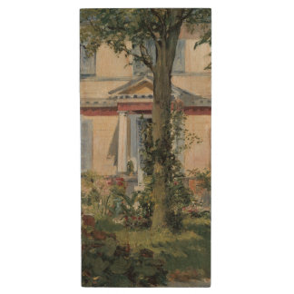 House at Rueil by Edouard Manet Wood Flash Drive
