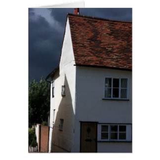 House at Saffron Walden, Essex, UK Greeting Card