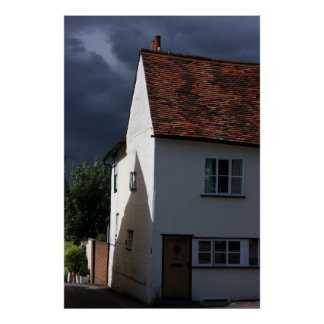 House at Saffron Walden, Essex, UK Poster