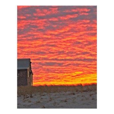 Beach Themed House at Sunset - 2 Letterhead
