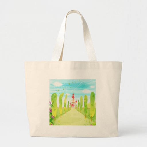 house at the end of the road canvas bag