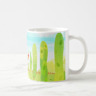 house at the end of the road coffee mug