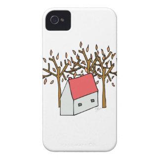 House autumn Case-Mate iPhone 4 case