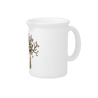 House autumn drink pitcher