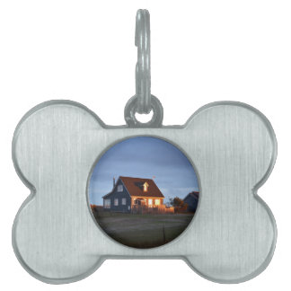 House Behind The Dunes Pet Name Tag