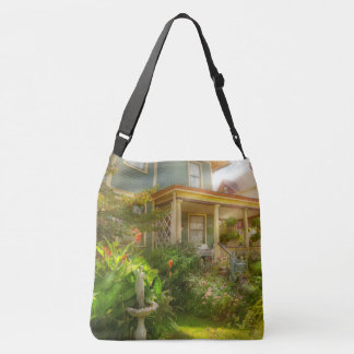 House - Bevidere NJ - Country garden Crossbody Bag