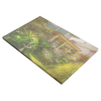 House - Bevidere NJ - Country garden Gallery Wrap