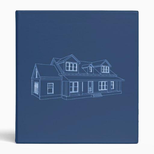 House Blueprint: Custom Binder