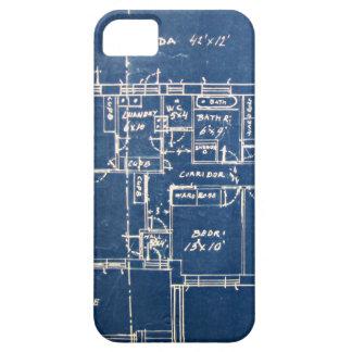 House Blueprints iPhone SE/5/5s Case