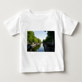 House Boats on Amsterdam Canal Baby T-Shirt