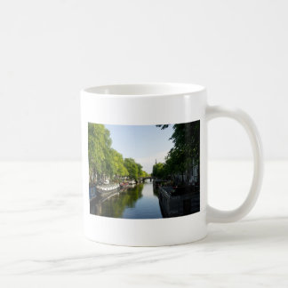 House Boats on Amsterdam Canal Coffee Mugs