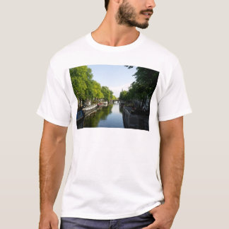 House Boats on Amsterdam Canal T-Shirt