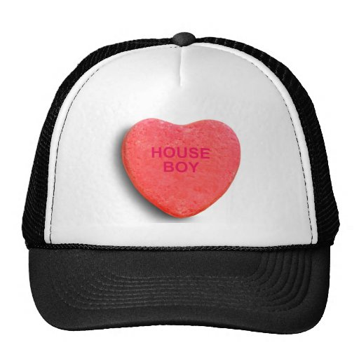 HOUSE BOY CANDY HEART TRUCKER HATS