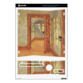 House by Anna Ancher Decal For Xbox 360 S