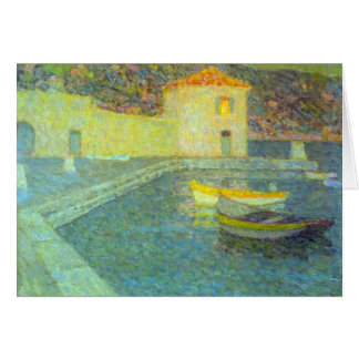 House by the Sea by Henri Le Sidaner Cards