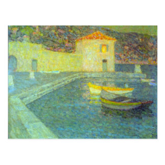 House by the Sea by Henri Le Sidaner Postcards