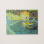 House by the Sea by Henri Le Sidaner Puzzle
