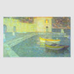 House by the Sea by Henri Le Sidaner Rectangle Stickers